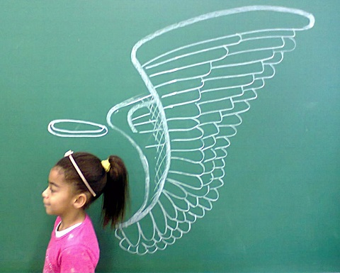 Alle Schüler sind Engel